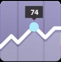 Fridge Temperature Monitoring Icon