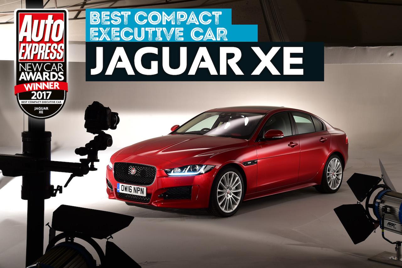 Jaguar með Best hannaða bílinn 2017 og Besta minni viðskiptabíl ársins að mati Auto Express