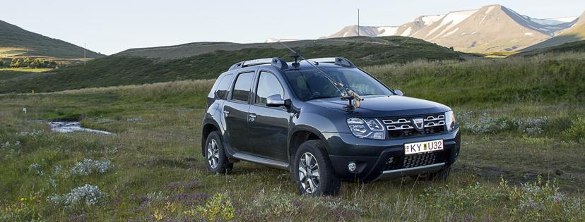 Dacia Duster mest seldi sportjeppi landsins