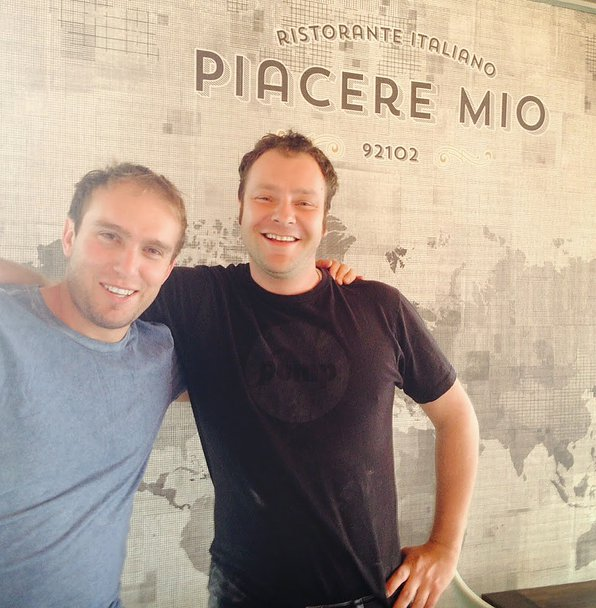 The owners are passionate about authentic Italian food Piacere Mio Italian Restaurant San DIego Sout