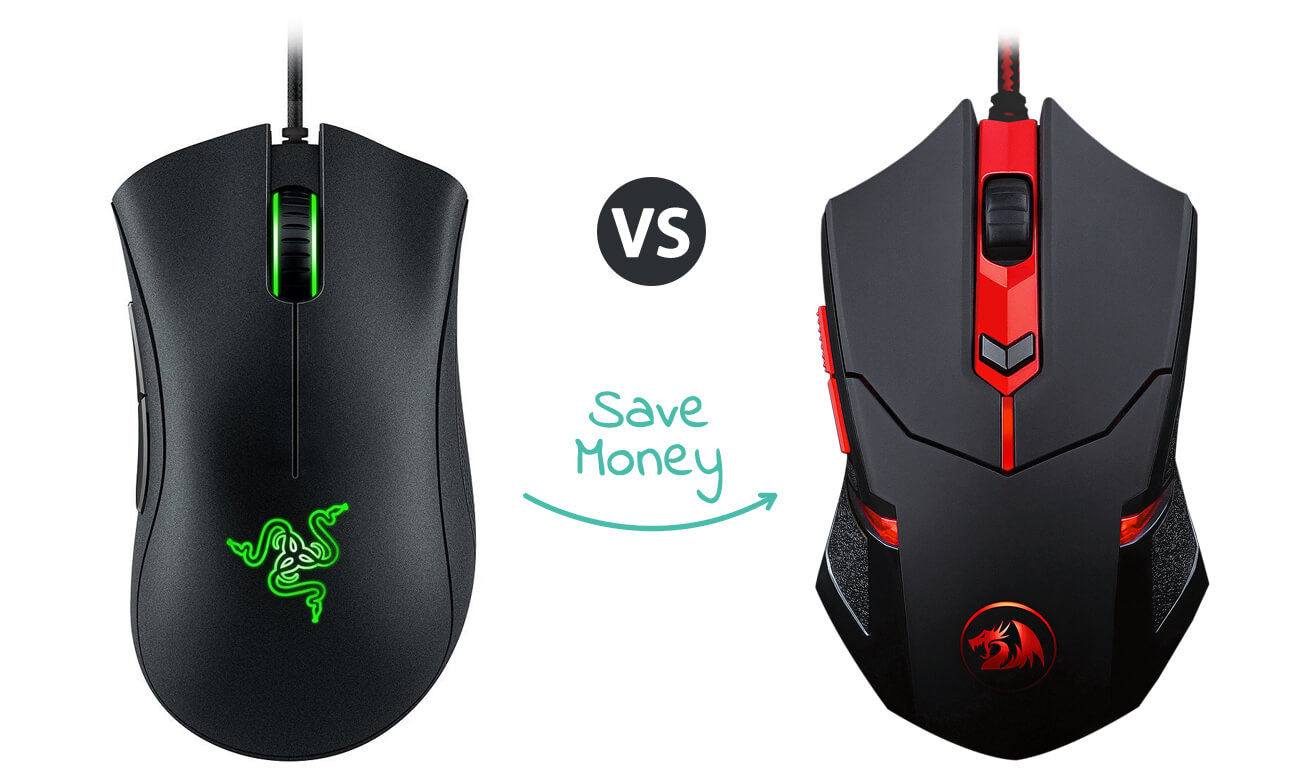 the best Cheap gaming mouse - Deathadder Chroma and Redragon M601