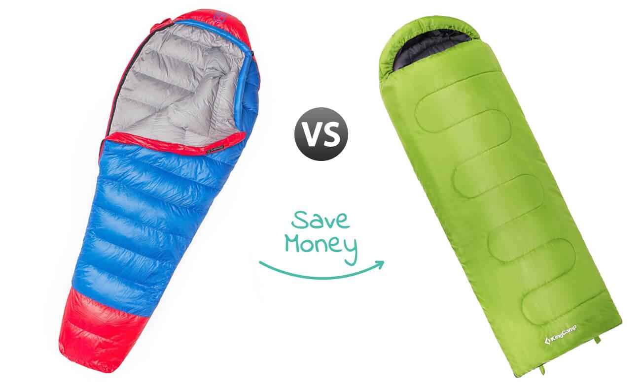 Ultralight Sleeping Bag - Buying Guide Hero Image - Paria KingCamp