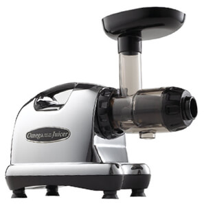 Easy to clean Omega J8006 Slow Masticating Juicer