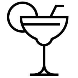 Margarita blender servings per jar - icon