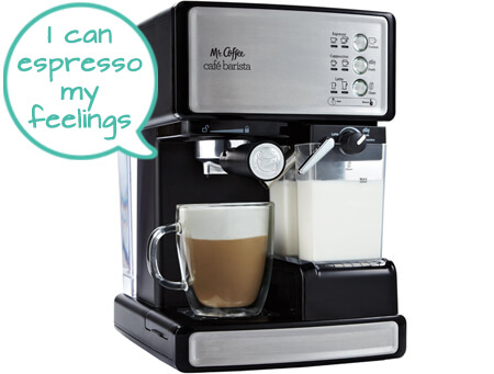 cappuccino maker reviews Mr Coffee