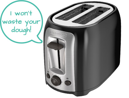 most affordable cheap toaster