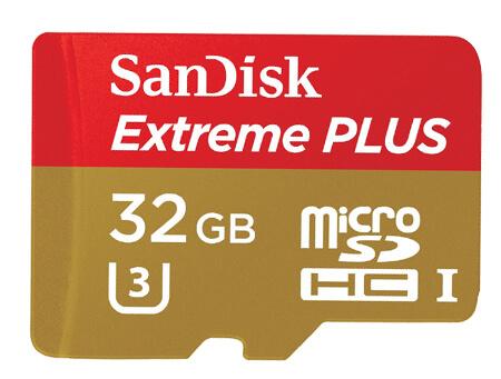 Sandisk Micro SD card SDXC class 10 UHS 3