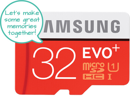 Samsung Micro SD Card SDXC Class 10 UHS 1