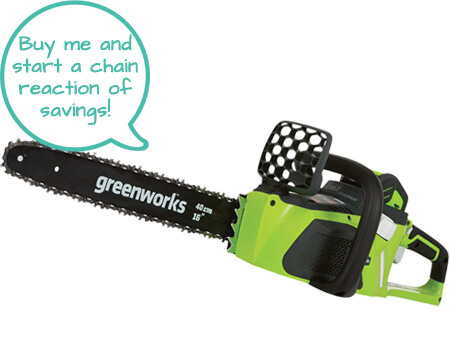 Greenworks Cordless Electric Chainsaw Reviews - second Image