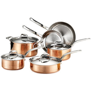 Best copper pan set - Lagostina - Bottom Image