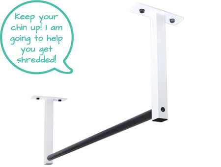 joist mounted pull up bar ultimate body press second image