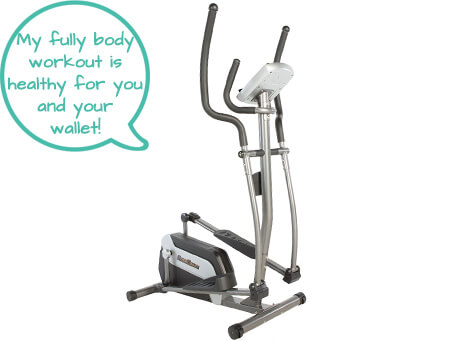 Best Elliptical for Home Use - Fitness Reality E5500XL - Second Image