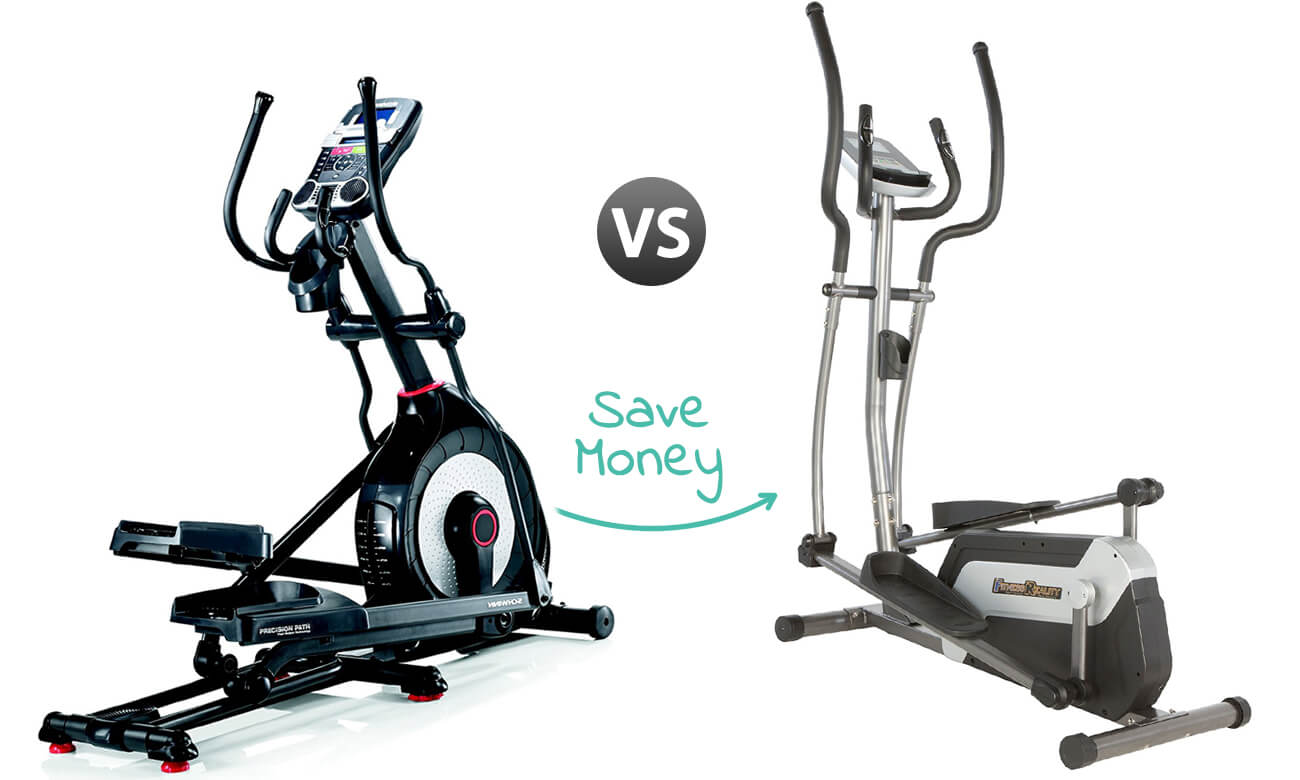 Best Elliptical for Home Use - Schwinn 470 and Fitness Reality E5500XL - Banner Image