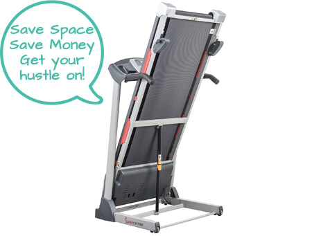 Best Foldable Compact Treadmill - Sunny Health SF-T7603 - Second Image