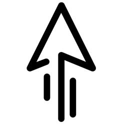 kinetic energy arrow