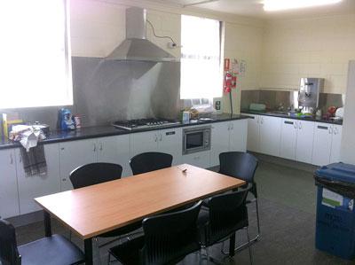 Barkley Hall Residence Kitchen
