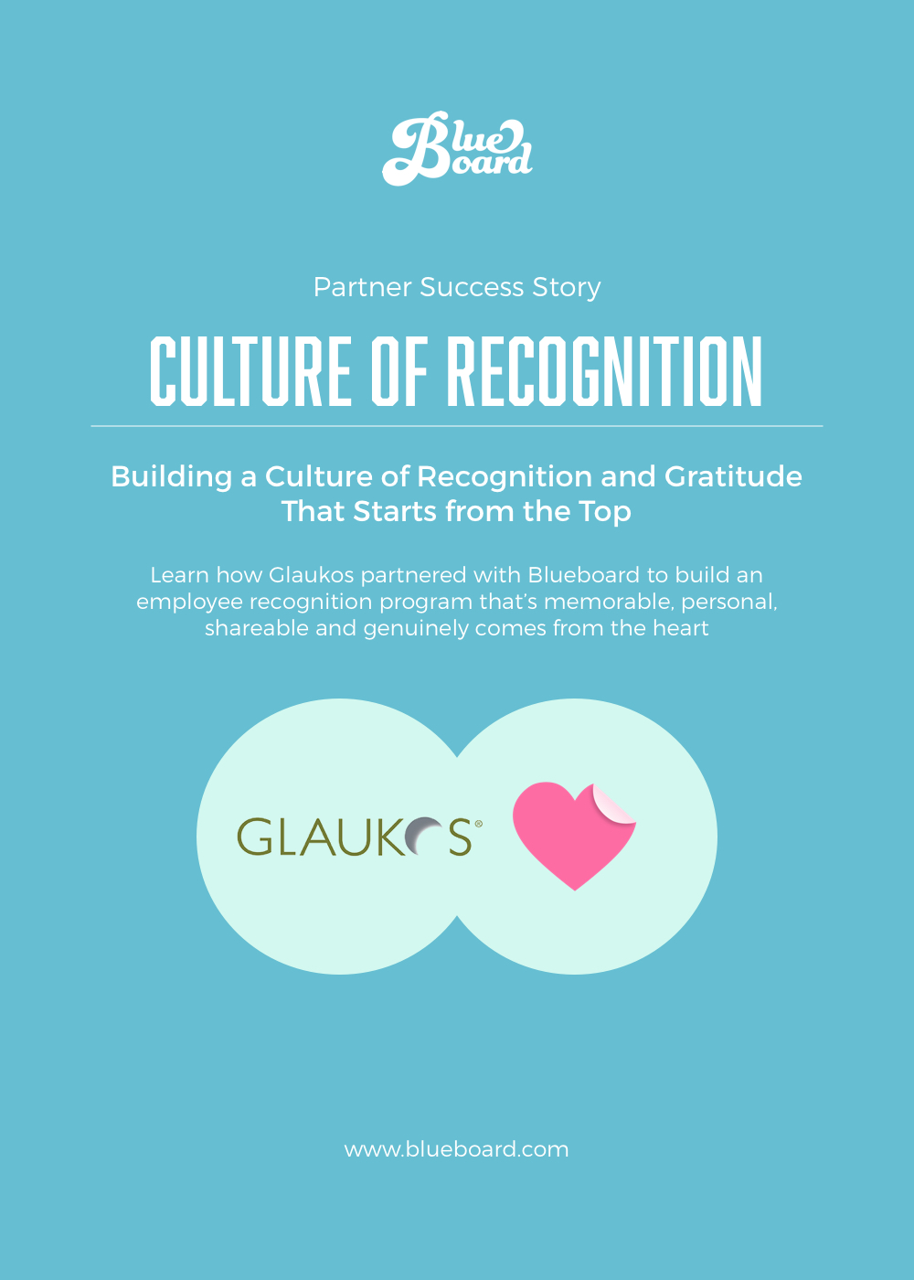 Blueboard Case Study Cover_Glaukos Employee Recognition