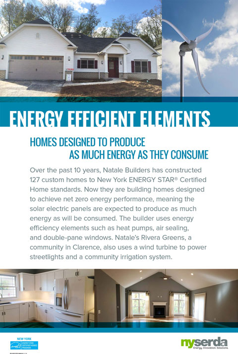 Energy efficient elements