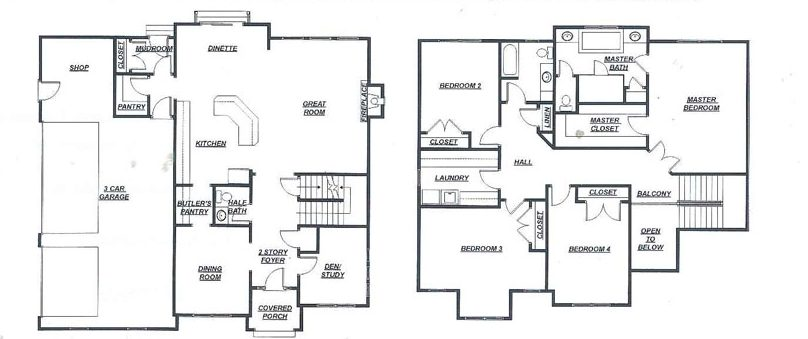the huntley floor plan