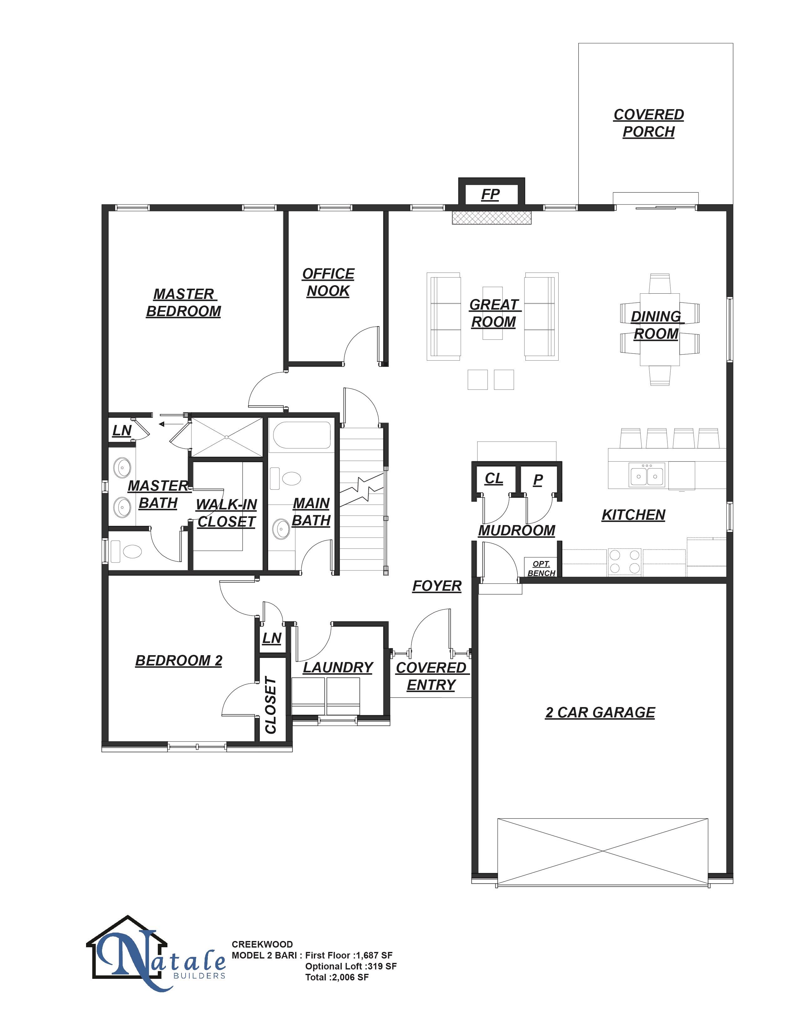 the abbott floor plan