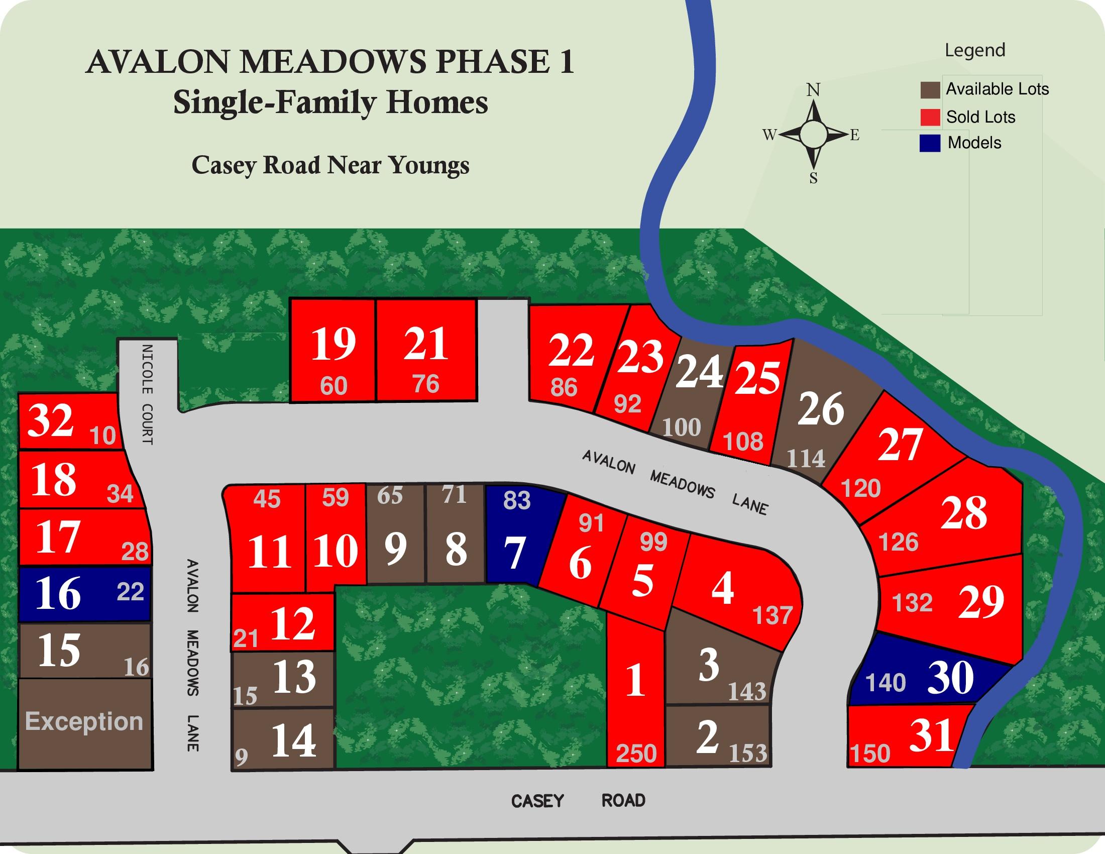 avalon meadows map