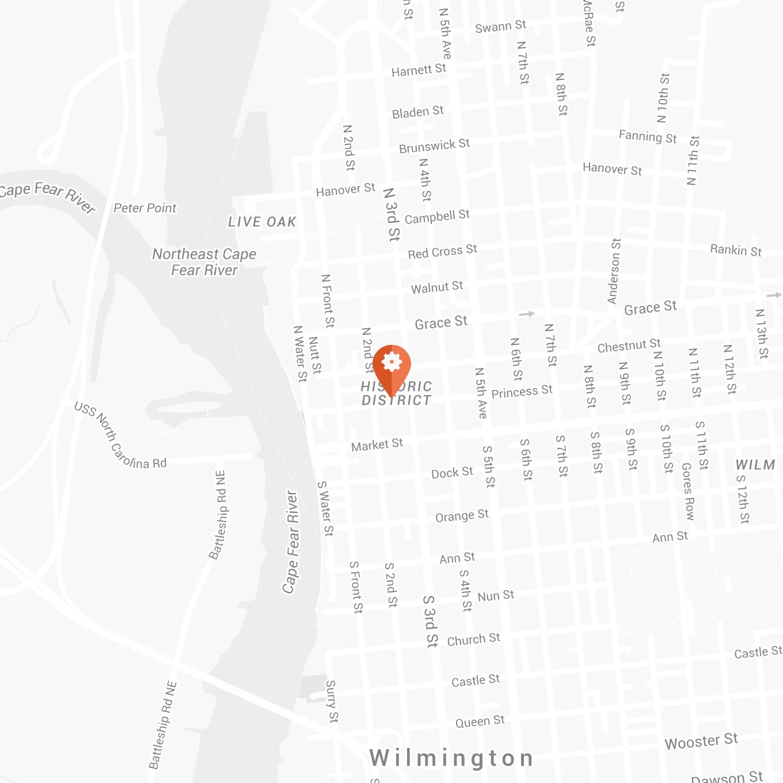 Wilmington Map - Brand Engine Location