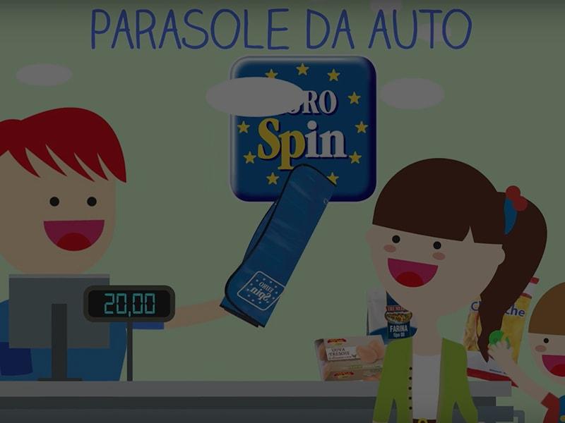 Parasole da auto Eurospin