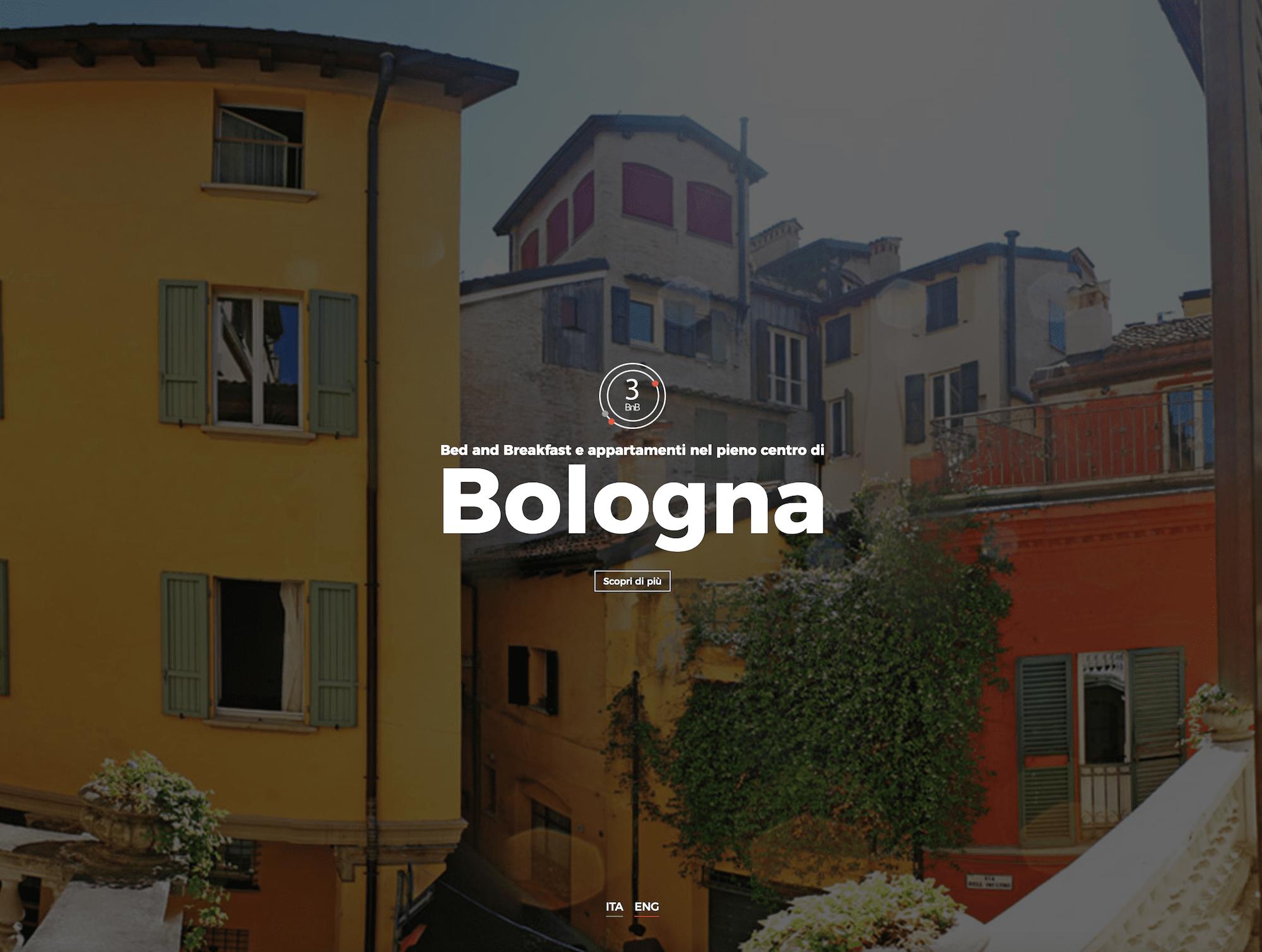 Sito internet del Bed and Breakfast di Bologna 3bnb