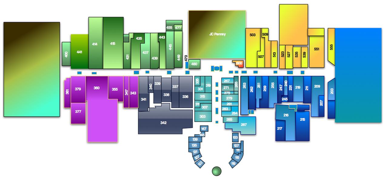 Map Of Chapel Hill Mall