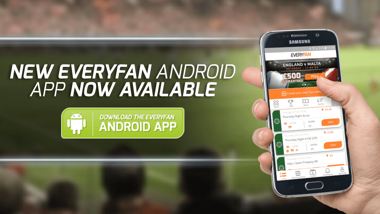 New EveryFan Android App - Now Available!