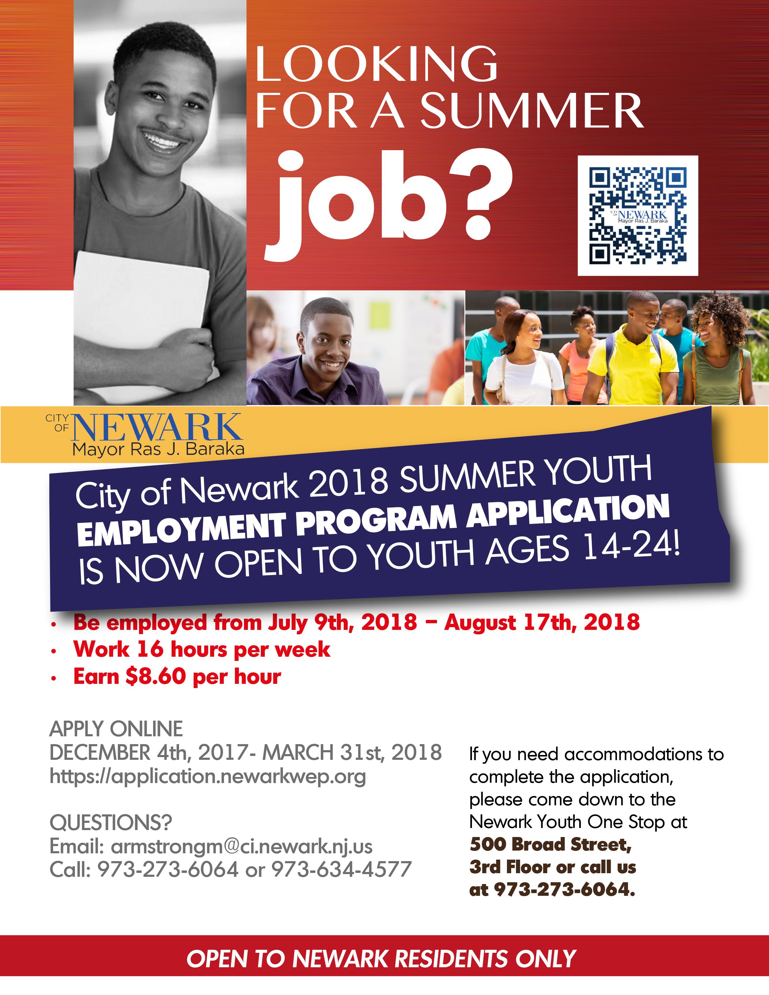 Cards summer youth employment documentation list falaconquin