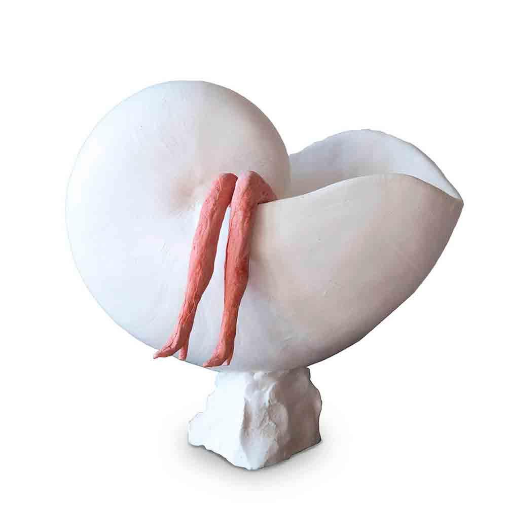 Venus1 Beeld Porselein door Veri Wisman