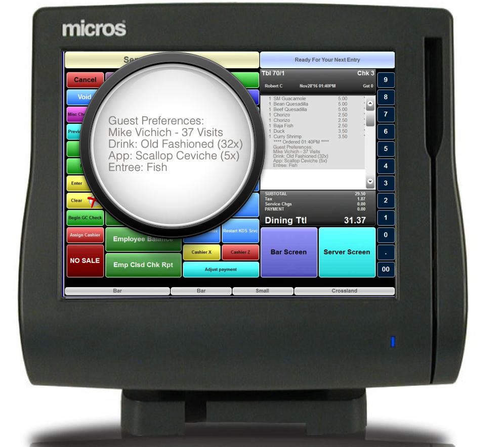 Micros, Aloha, Positouch POS Integration