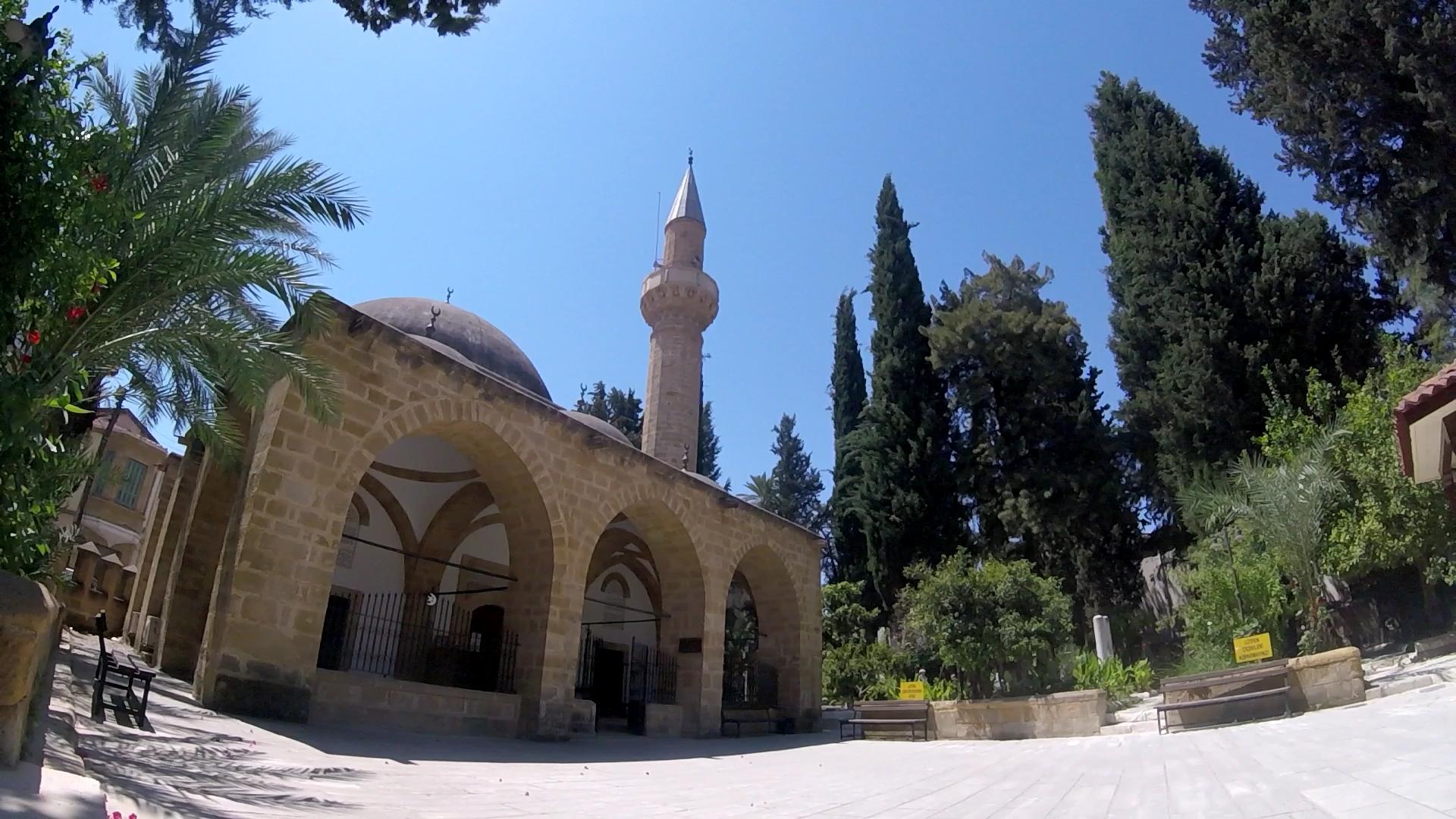Turkish side Mosque