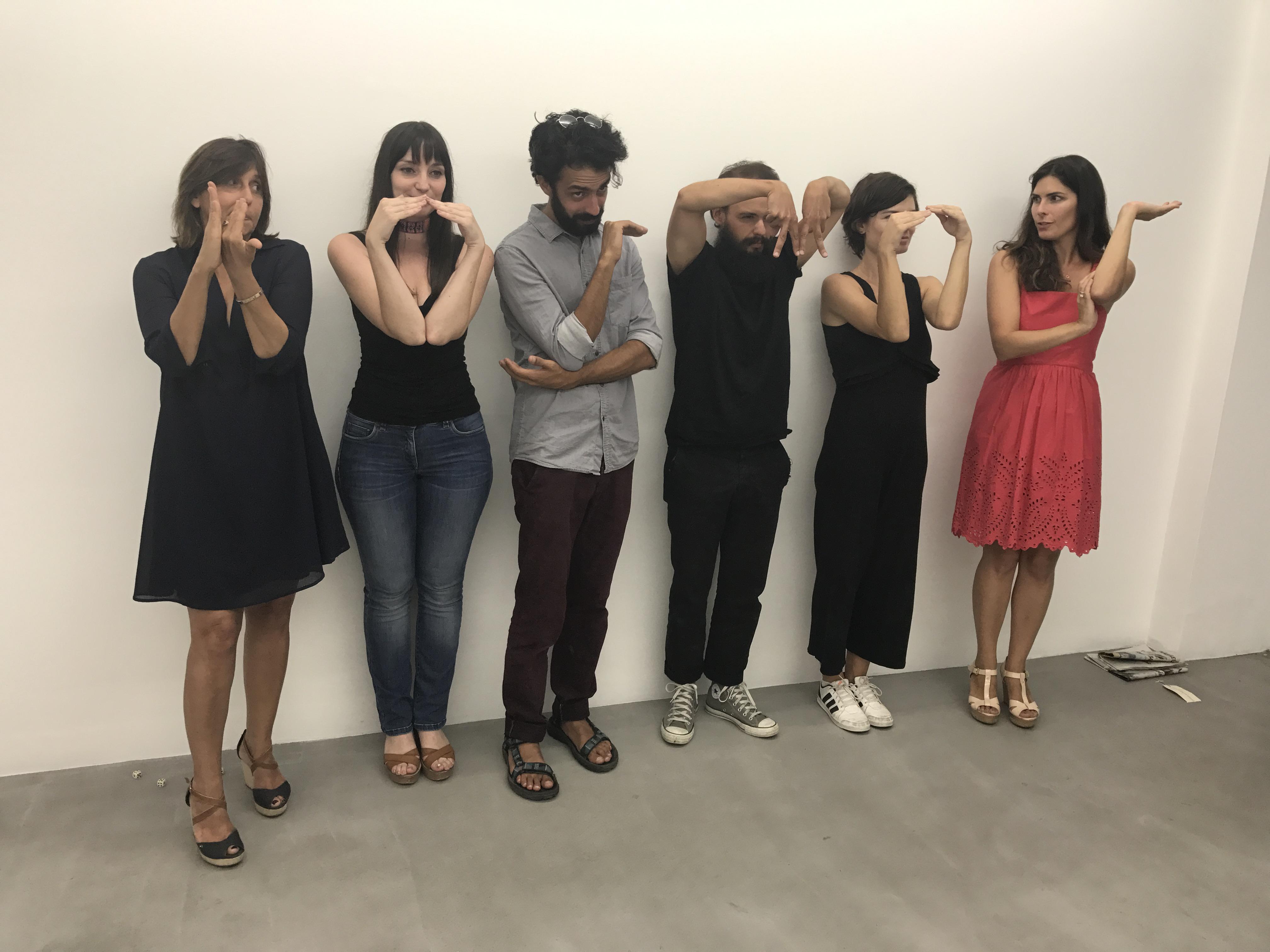 Dominique Gagneux, Sylvia Nicolaides, Marios Constantinides, Florian Cochet, Melissa Garcia Carro, Maria Sathi