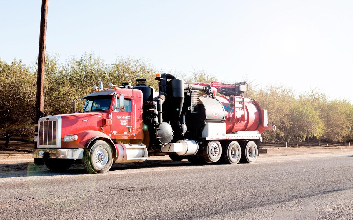 california hydrovac truck