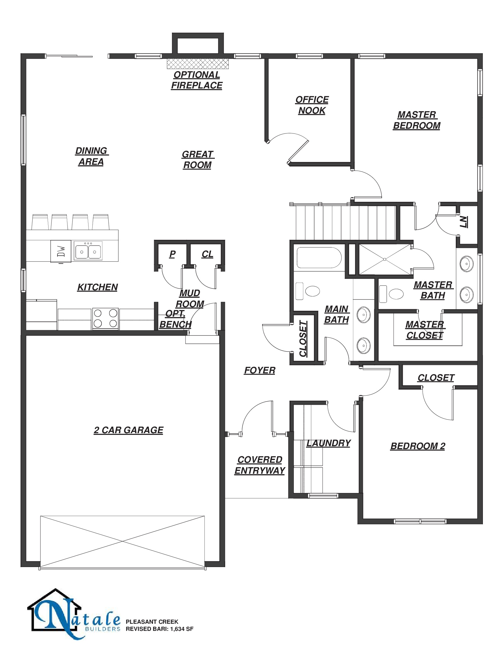 5543 Cooper Ridge Floor Plan