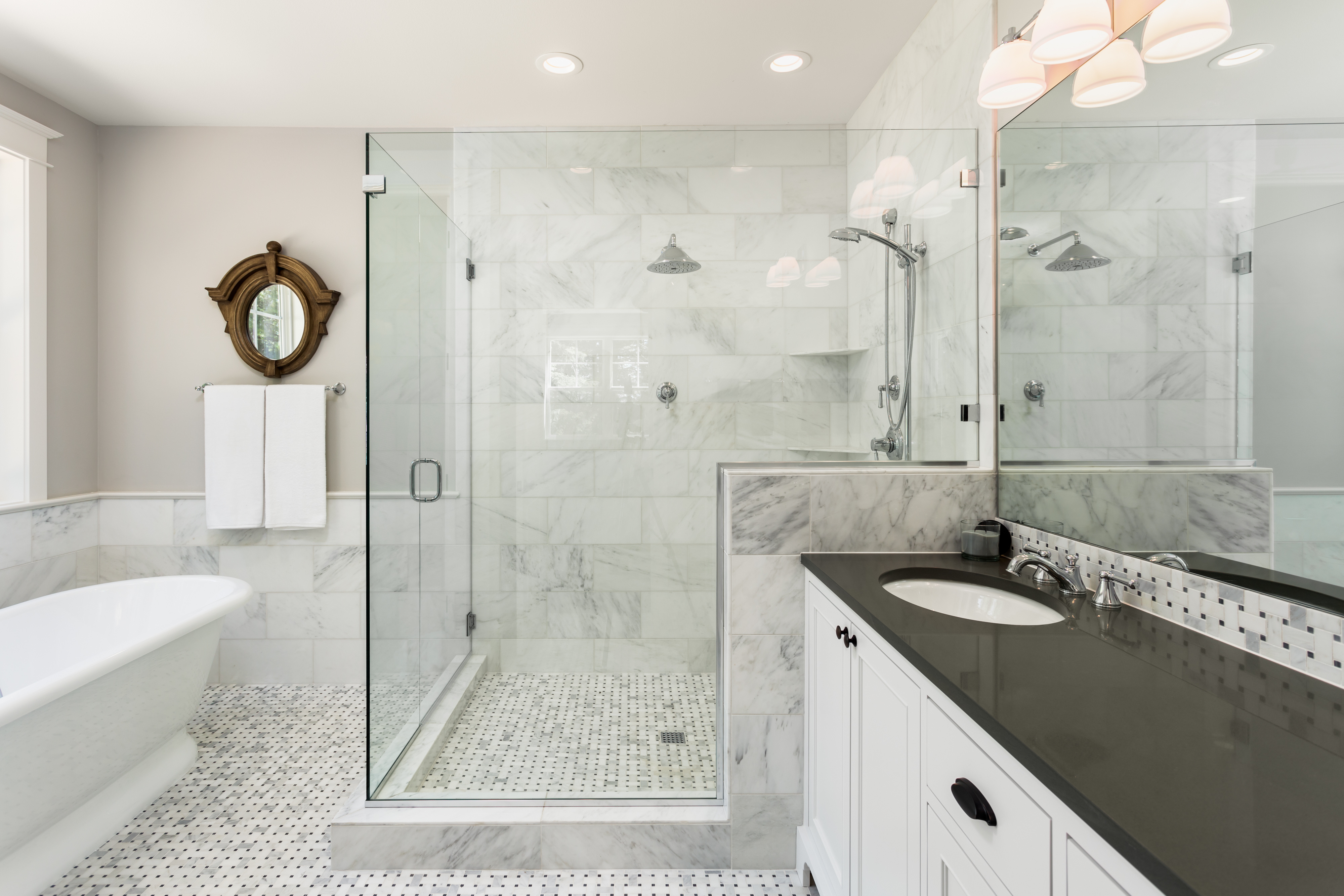 4 Luxurious Bathroom Shower Designs