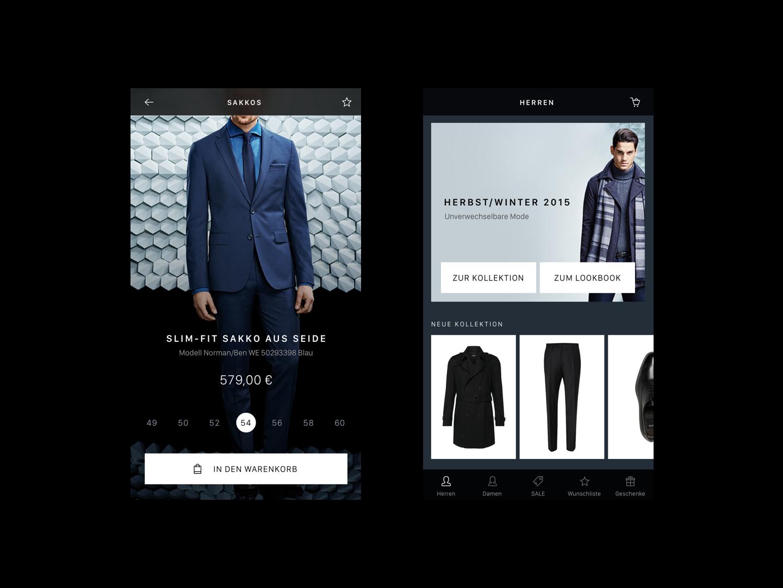 UI App Design: Ecommerce