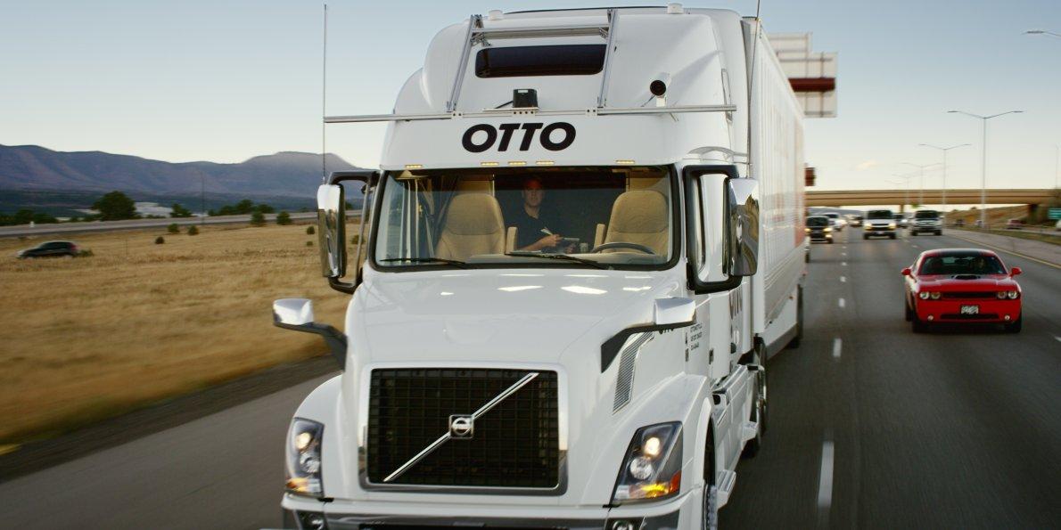 Самоуправляемые грузовики и грузоперевозки, современные технологии