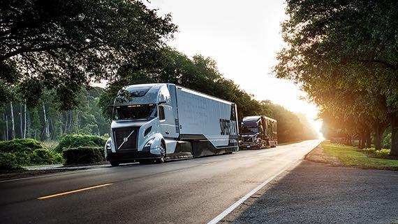 супер-грузовики supertruck volvo показатели эффективности