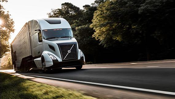 Супер-грузовик Volvo показатели оффективности грузовых перевозок