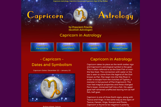 Horoscopes & Astology for all signs of the zodiac.