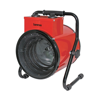Benross 3kW Heavy Duty Fan Heater