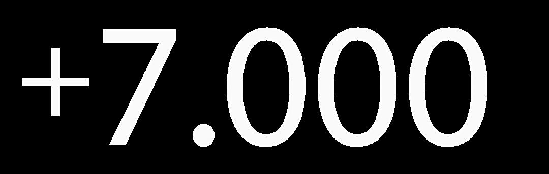 7.000 Profesionales