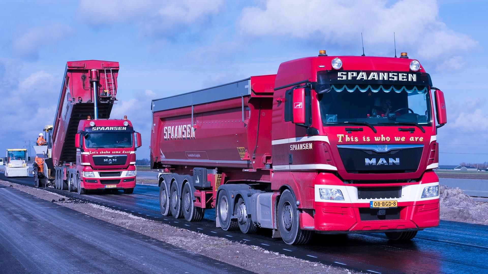 Project N241 Boskalis Nederland – Spaansen Grondstoffen en Logistiek - transport freesasfalt
