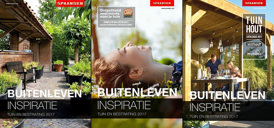 Buitenleven Inspiratie Brochures van Spaansen