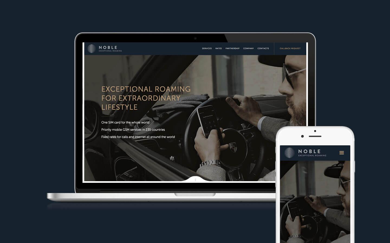 разработка адаптивного сайта, текст, дизайн, анимация