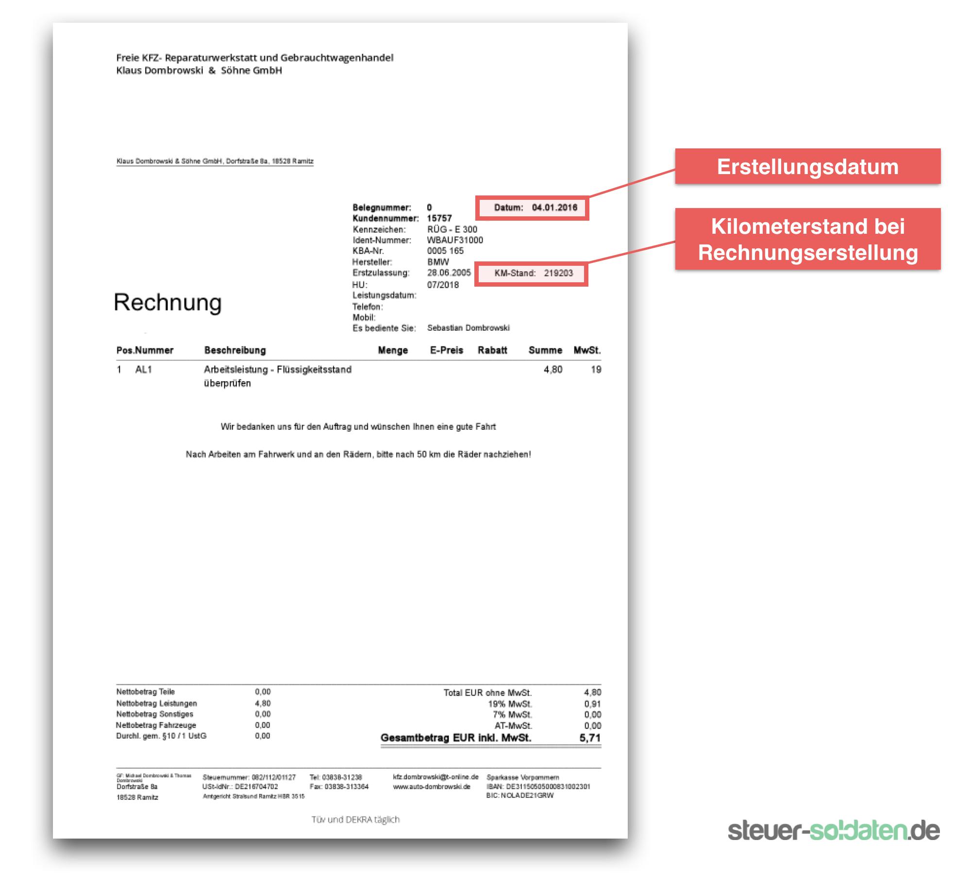 Rechnung Fahrtkosten : so weisen sie als soldat fahrtkosten finanzamtkonform nach ~ Themetempest.com Abrechnung