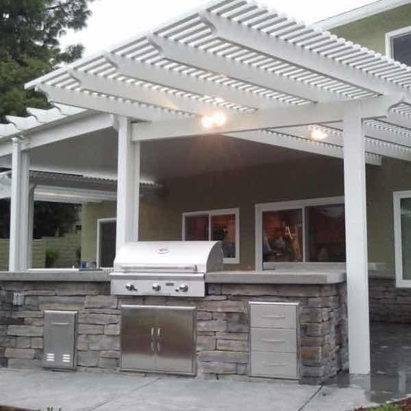 Combination And Bi Level Patio Covers